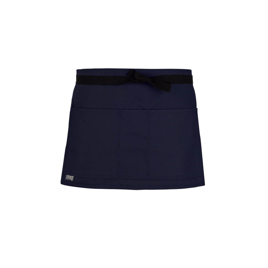 Lightweight Shorty Waist Apron-French Blue-CHEFtog