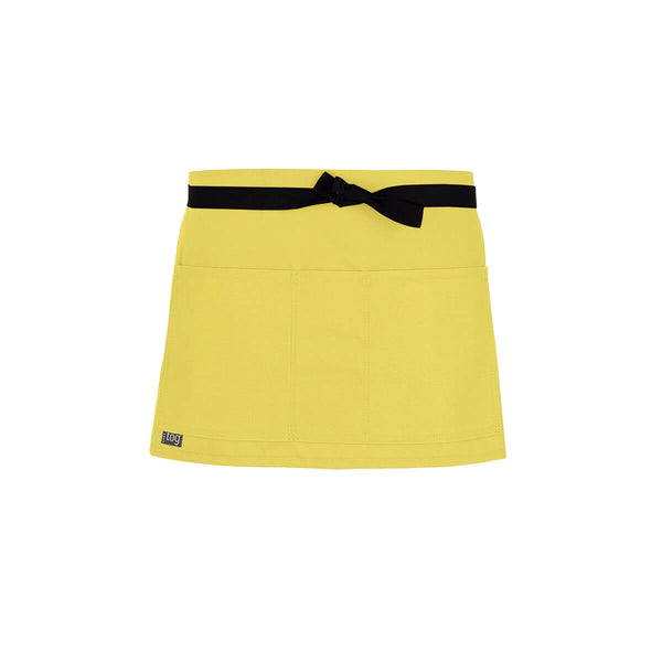 Lightweight Shorty Waist Apron-Lemon-CHEFtog