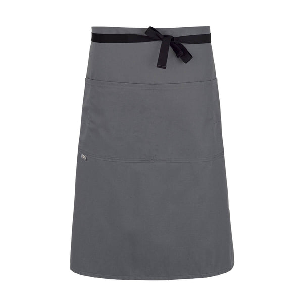 CHEFtog Lightweight Three Quarter Bistro Server Apron Gray
