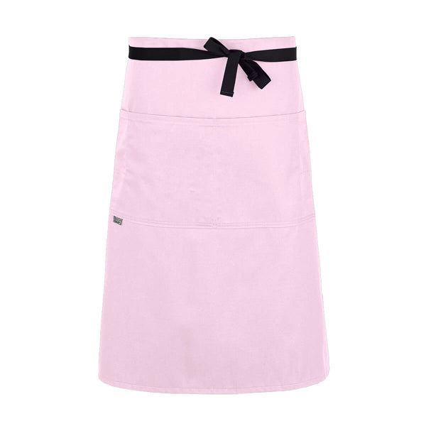 CHEFtog Lightweight Three Quarter Bistro Server Apron Pink