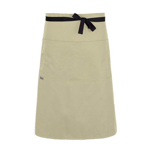 CHEFtog Lightweight Three Quarter Bistro Server Apron Rice