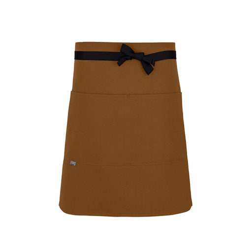 CHEFtog Performance Half Bistro Server Apron Rust2