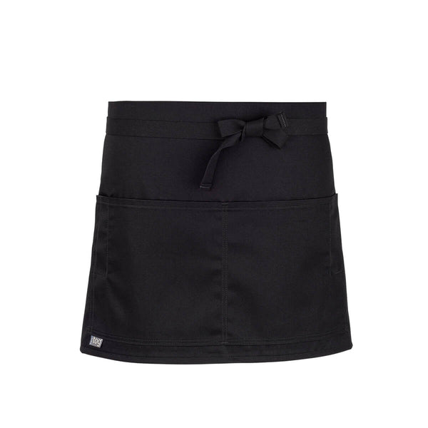 CHEFtog Performance Quarter Bistro Server Apron Black