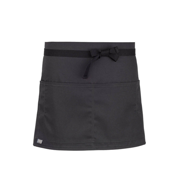 CHEFtog Performance Quarter Bistro Server Apron Charcoal