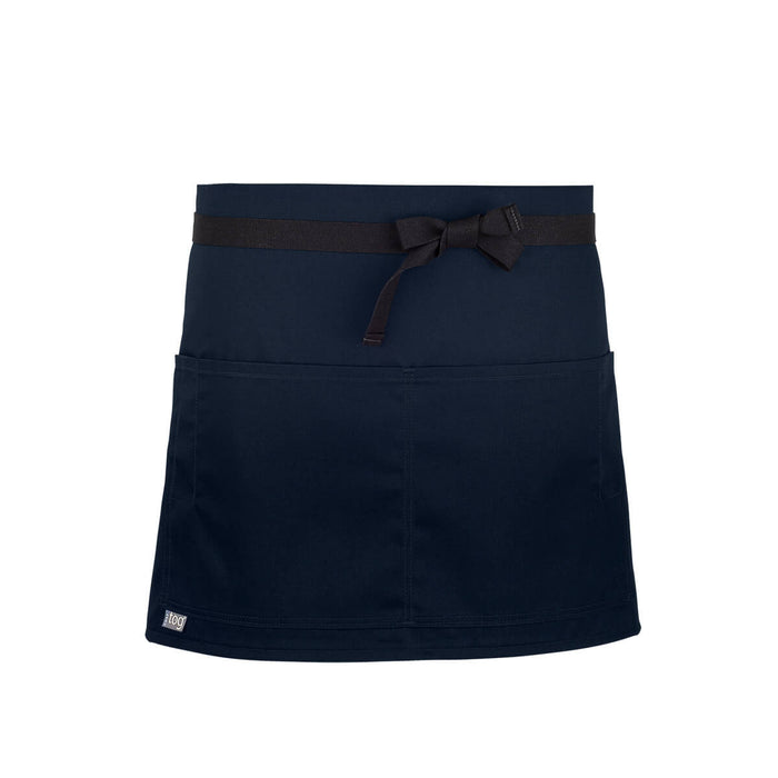CHEFtog Performance Quarter Bistro Server Apron Navy