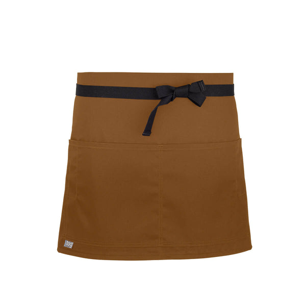 CHEFtog Performance Quarter Bistro Server Apron Rust2