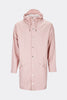 Rains Long Jacket in Rose