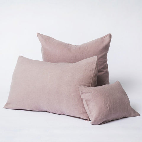 Cultiver Linen King Pillowcase Set in Dusk
