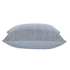 Woven Square Cushion in Grey