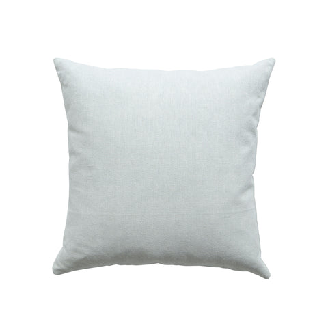 Woven Square Cushion in Off White