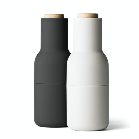 | PRE-ORDER | Norm Bottle Grinder Set in Ash + Carbon