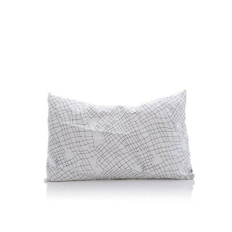White Net Organic Cotton Pillowcase Set
