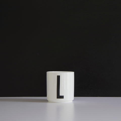 Design Letters Cups