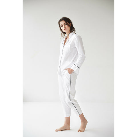 Frank Pyjama Set in White