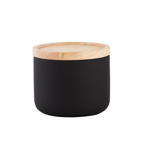 Kitchen Canister - Small, Matte Black