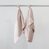 Cultiver Linen Pillowcase Set in Blush