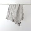 Cultiver Linen Duvet Cover in Smoke Grey