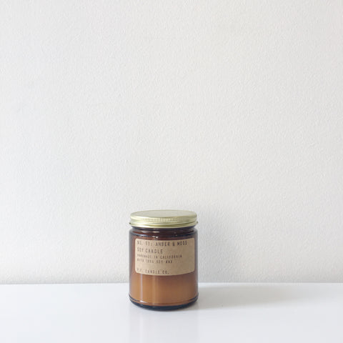 No. 11 Amber + Moss Soy Candle