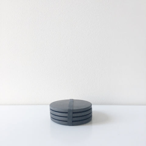 Concrete Coasters - Black