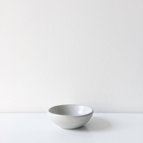 Concrete Mini Bowl - Natural