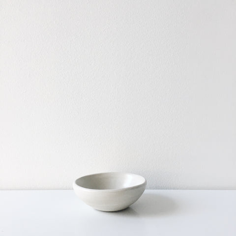 Concrete Mini Bowl - White
