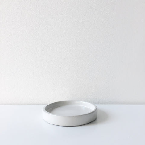Concrete Mini Tray - White