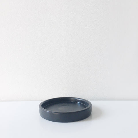 Concrete Mini Tray - Black