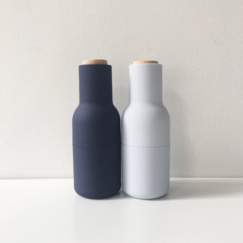 Norm Bottle Grinder Set in Classic Blue