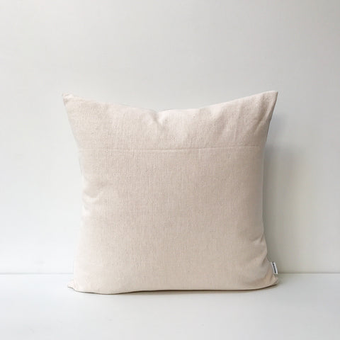 Woven Square Cushion in Blush