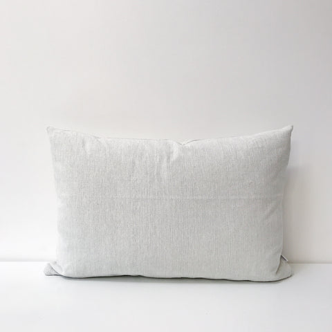Woven Long Cushion in Off White