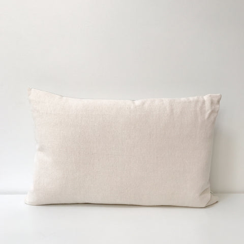 Woven Long Cushion in Blush