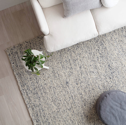 | PRE-ORDER | Danny Weave Rug in Chalk / Charcoal