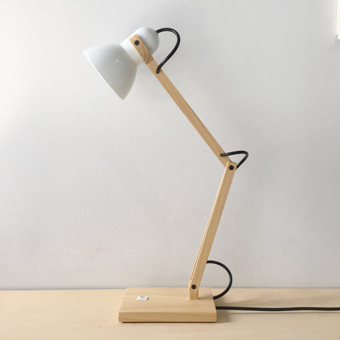 Emmet Lamp in White