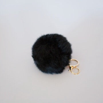 Honey Bunny Keyring - Black