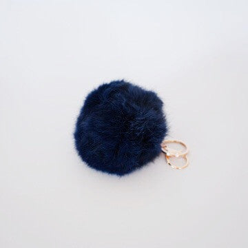 Honey Bunny Keyring - Navy