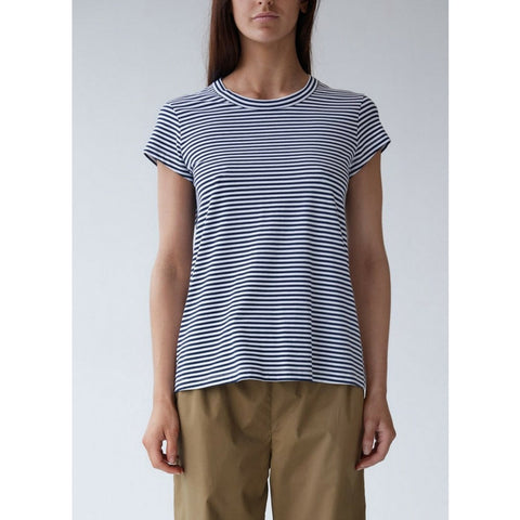 Oliver Crew Neck Sleep Tee in Stripe