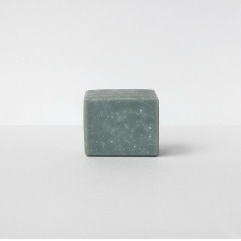 Sea Salt + Coconut Milk with Jojoba + Bamboo Charcoal Soap