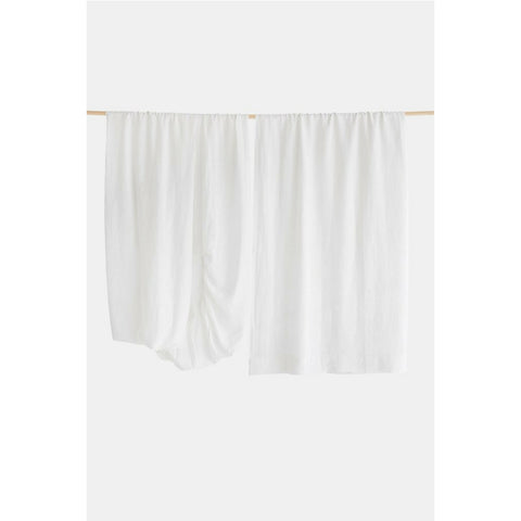 Linen Sheet Set in Pure White