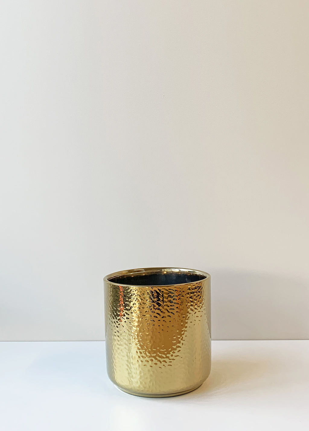 Ceramic Planter Medium - Gold
