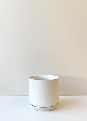 Oslo Planter Medium - White