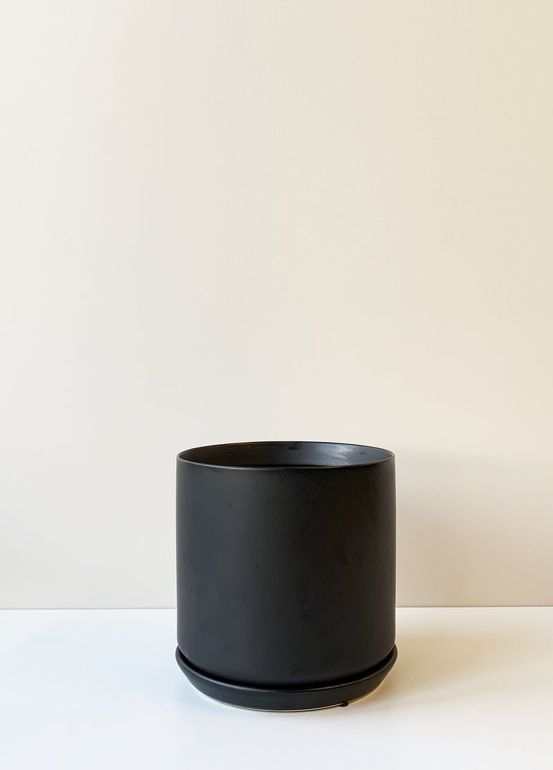 Oslo Planter Large - Black