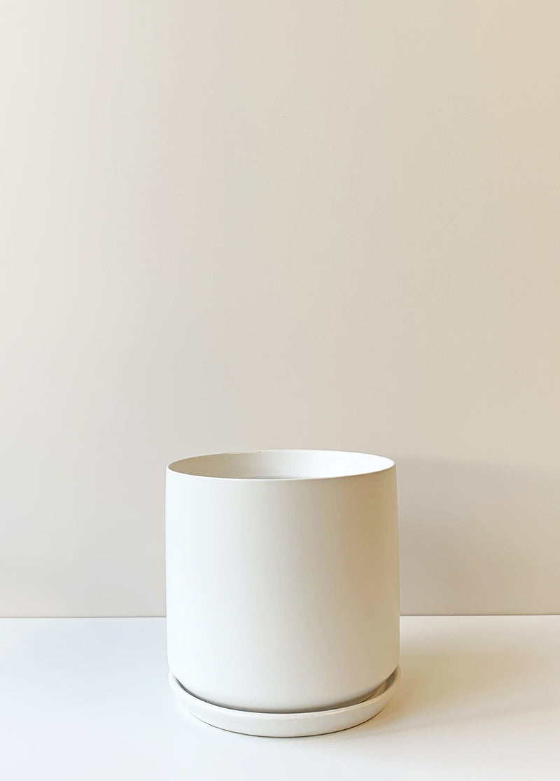 Oslo Planter Large - White