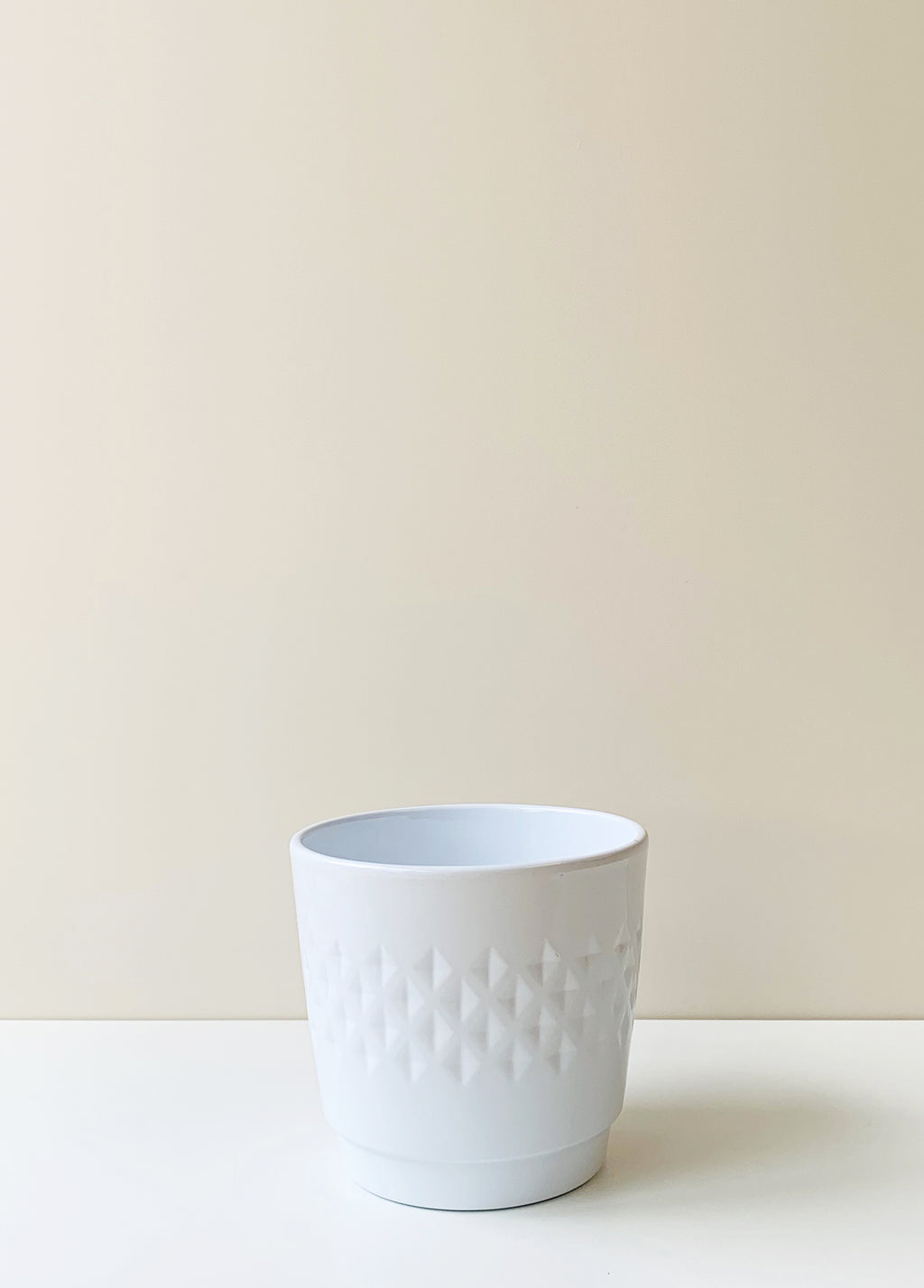 Bjorn White Ceramic Planter