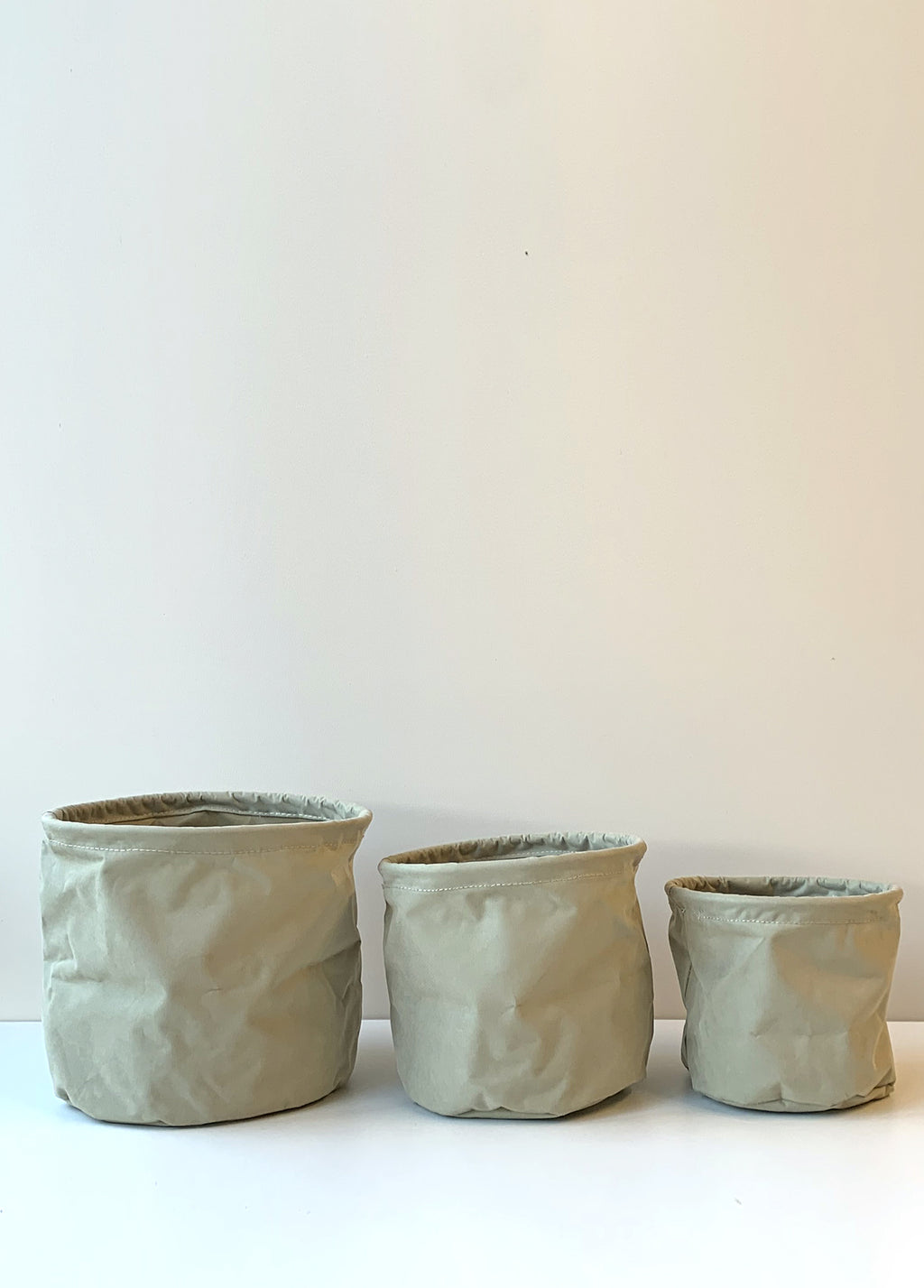 Fabric Pot Covers Sage
