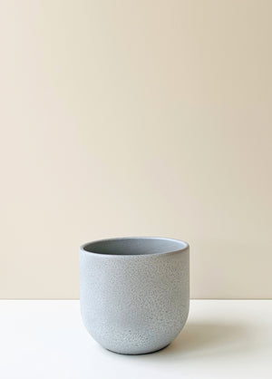 Nora Stone Grey Ceramic Planter
