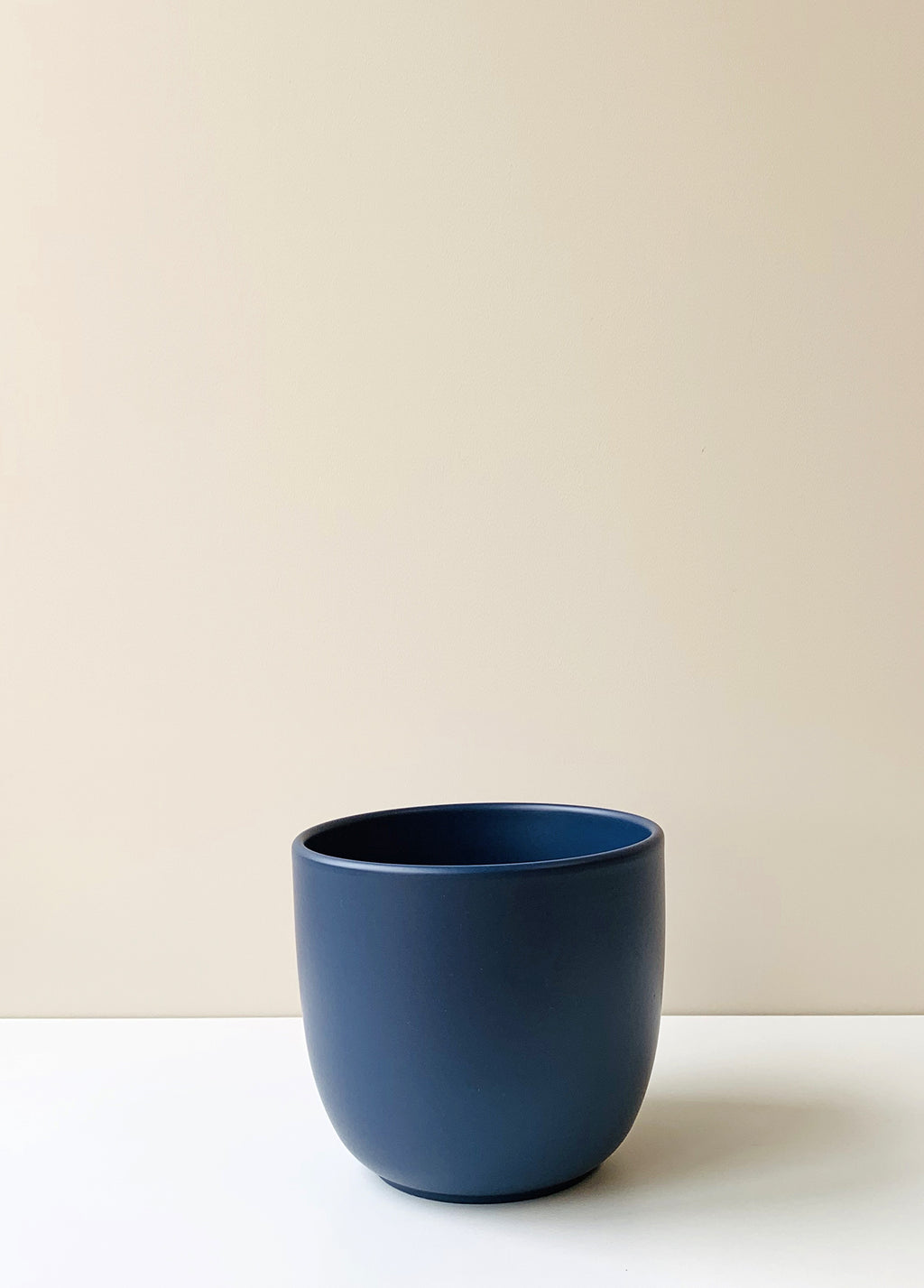 Tusca Midnight Blue Ceramic Planter