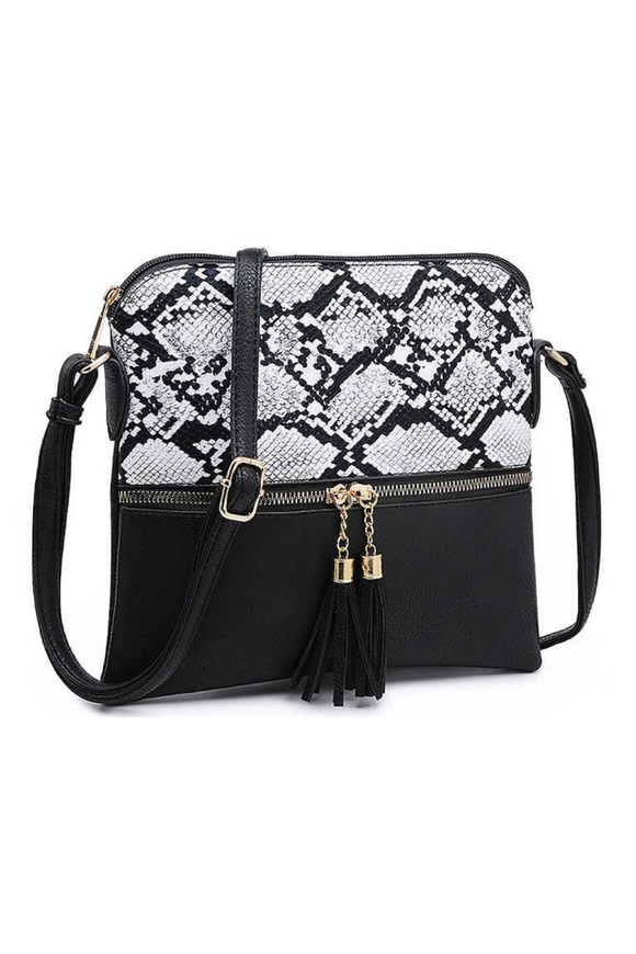 Stevie Snakeskin Bag