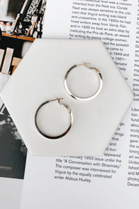 Clancy Gold Hoops