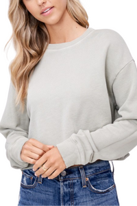 Sasha Crop Sweatshirt