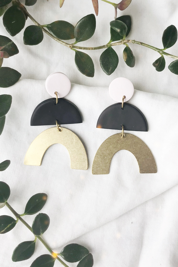 Wet Coat Designs Arch Earrings